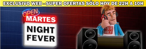 martes night fever 24 junio 2014