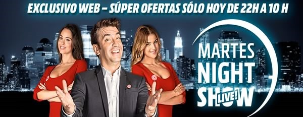 martes night show 27 enero 2015 media markt espana