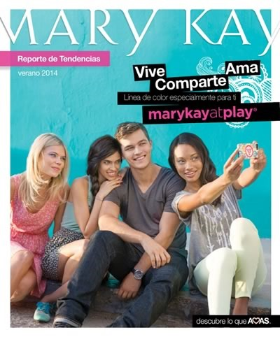 mary kay catalogo tendencias verano 2014 belleza