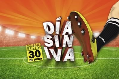 media mark dia sin iva lunes 30 junio 2014