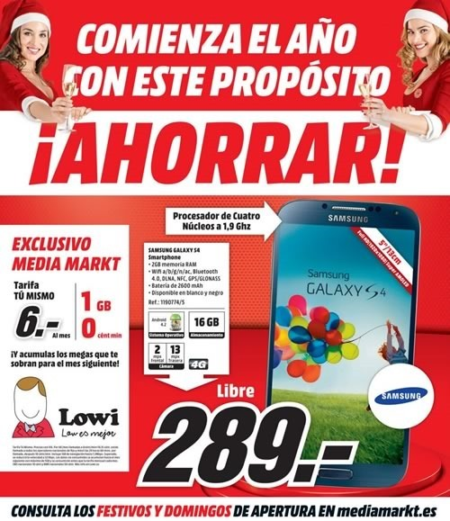 media mark folleto ofertas inicia el 2015 ahorrando espana
