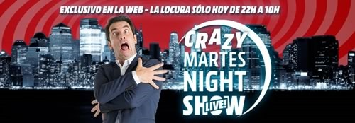 media markt ofertas martes nigth show 28 abril 2015