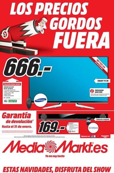 mediamarkt catalogo precios gordos fuera navidad 2014
