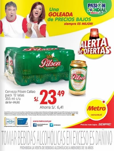 metro alerta de ofertas 13 julio 2014