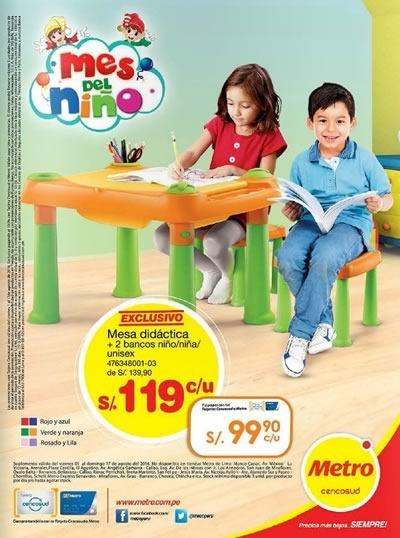 metro catalogo ofertas juguetes dia del nino 2014