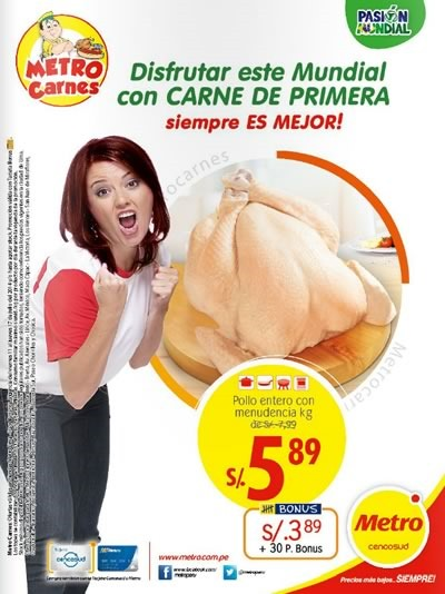 metro folleto ofertas carnes julio 2014