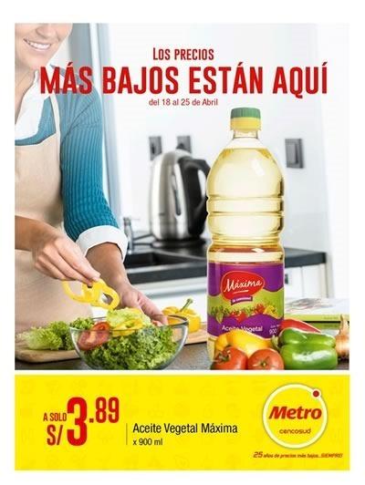 metro ofertas 25 abril 2018