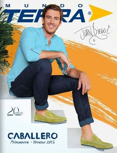 e7a2a32d Mundo Terra Primavera Verano 2015: Catálogo de Calzado para Caballeros -  México y USA