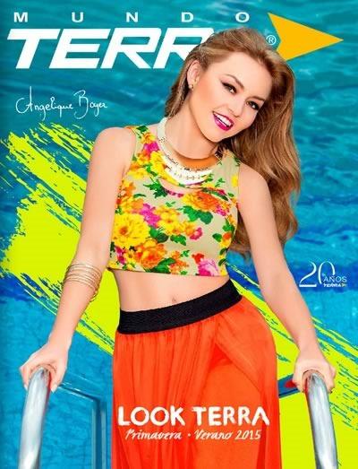 Cat logo mundo terra ropa para dama primavera verano 2015 for Catalogos terra