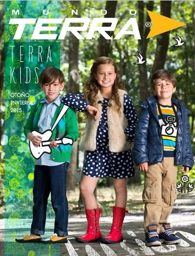mundo terra catalogo terra kids otono invierno 2015