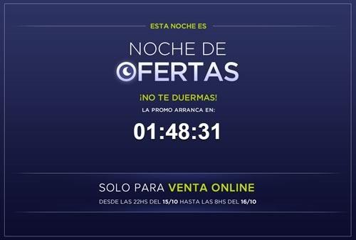 noche de ofertas falabella argentina 15 16 octubre 2014