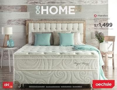 oechsle catalogo muebles colchones julio agosto 2015 peru