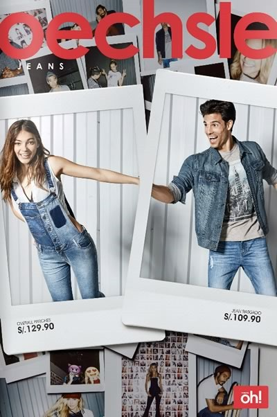 oechsle catalogo ofertas jeans abril 2016 peru