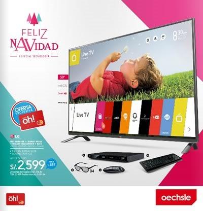 oechsle catalogo ofertas tecnologia navidad 2014 peru