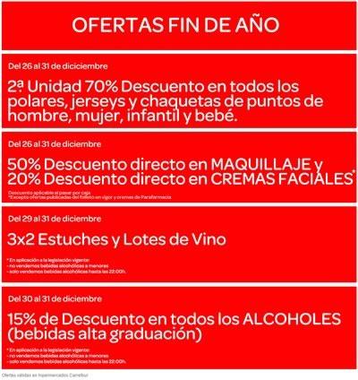 oferta de fin de ano hipermercados carrefour espana