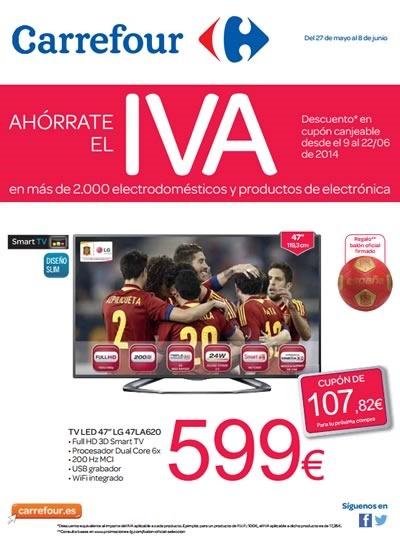 ofertas ahorrate el iva carrefour espana junio
