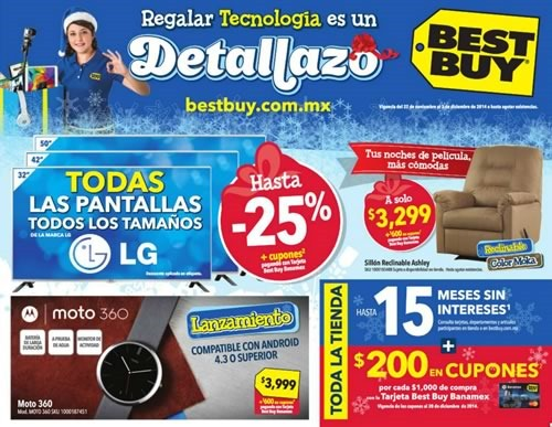 ofertas best buy 27 nov al 3 dic 2014 mexico