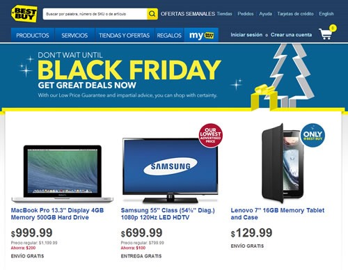 ofertas best buy black friday 2013