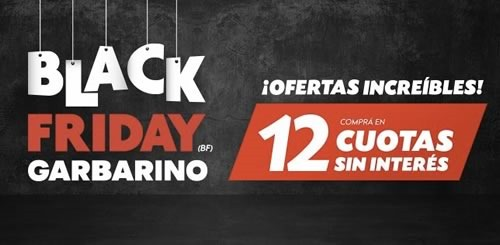 ofertas black friday garbarino 26 febrero 2016