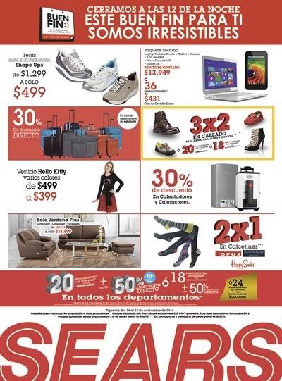ofertas buen fin 2014 tiendas sears