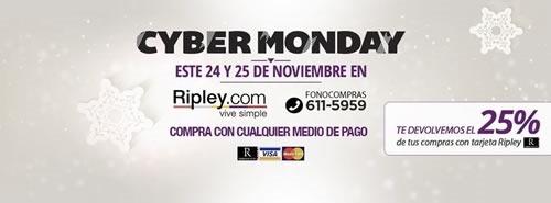ofertas cyber monday ripley peru 2014