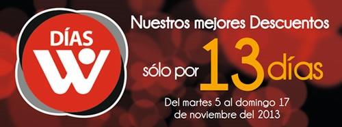 ofertas dias w noviembre 2013 peru