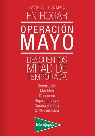 ofertas el corte ingles operacion mayo 2014 hogar deco