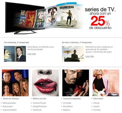 ofertas en series de tv el corte ingles octubre noviembre 2013 espana 2