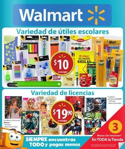 ofertas escolares walmart 2015 mexico