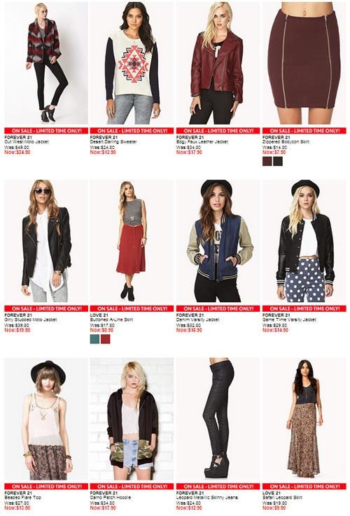 ofertas forever 21 online noviembre 2013 1
