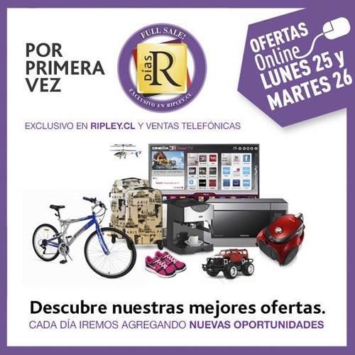 ofertas full sale dias R ripley 25 26 noviembre 2013
