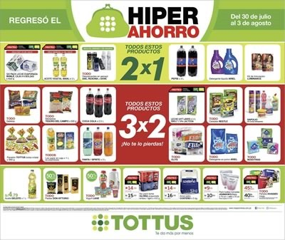 ofertas hiperahorro tottus agosto 2014