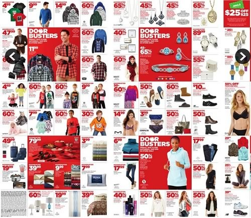 ofertas holiday huge sale 2014 en jcpenney estados unidos - 01