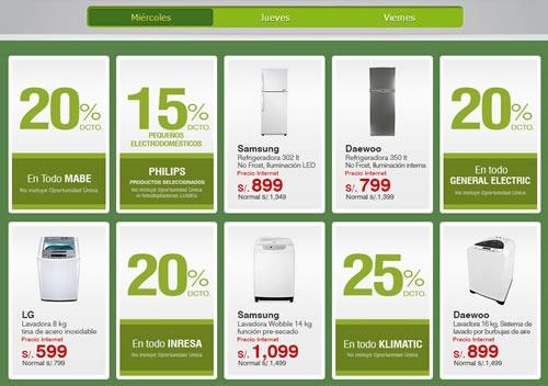 ofertas horas verdes saga falabella 6 7 8 nov 2013 descuentos