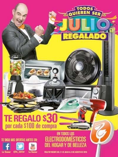 ofertas julio regalado del 31 julio al 9 agosto 2015