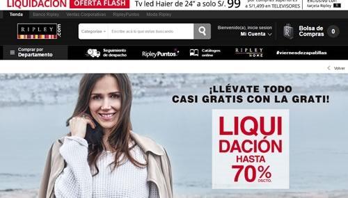 ofertas liquidacion ripley fiestas patrias julio 2016