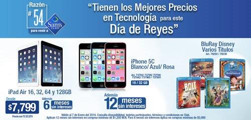 ofertas sams club dia de reyes 2014