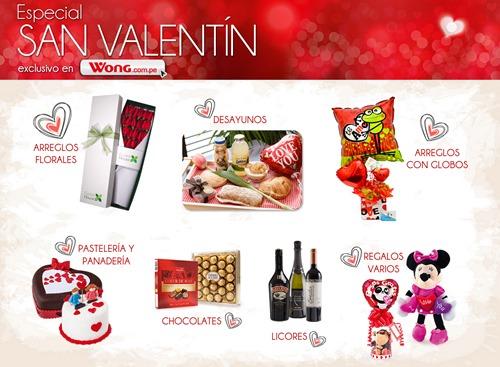 ofertas san valentin 2015 supermercados wong