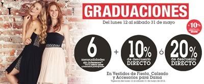 ofertas sears vestidos graduaciones calzado mayo 2014