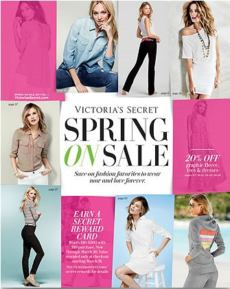 ofertas victoria secret spring on sale 2014