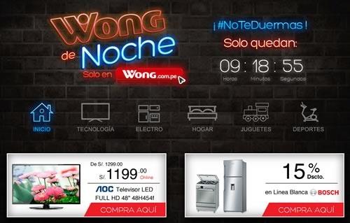 ofertas wong de noche 27 de marzo 2015