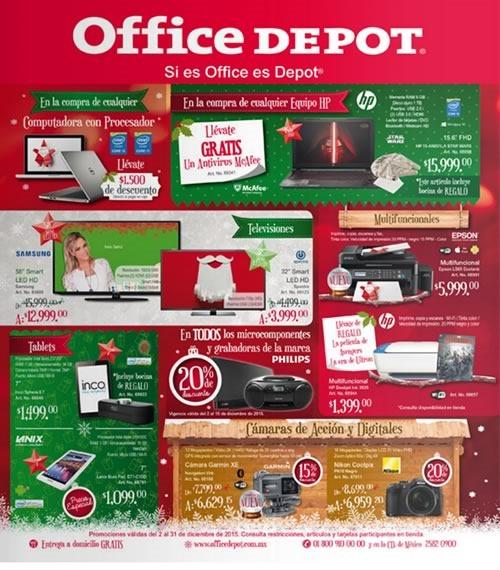 office depot catalogo diciembre 2015