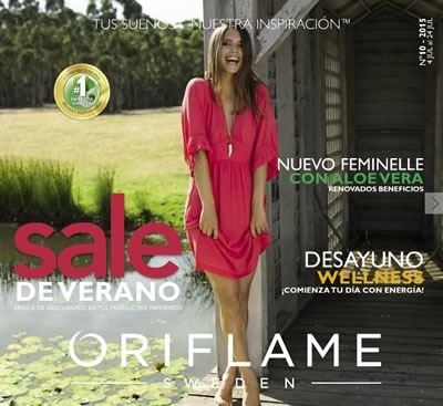 oriflame catalogo digital numero 10 de 2015