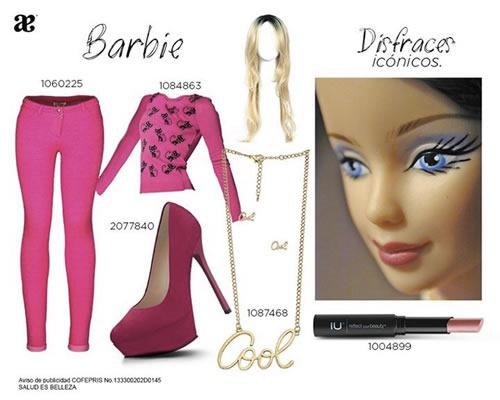 outfits con estilo para fiestas de disfraces looks de andrea - barbie