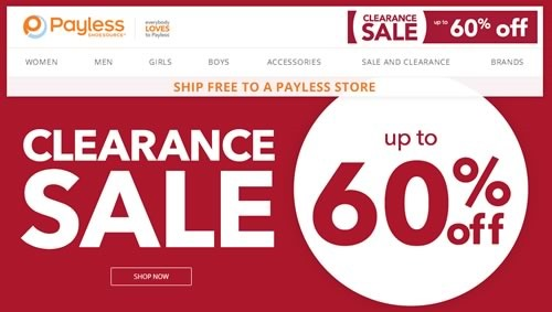 payless shoes venta liquidacion hasta 60 off julio 2014
