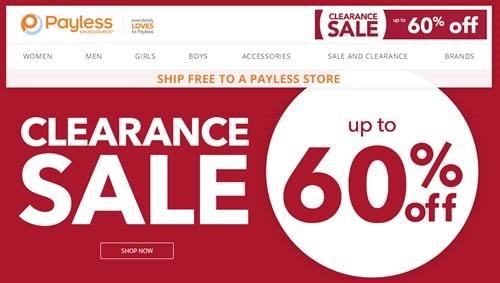payless shoes venta liquidacion hasta 60 off julio 2014
