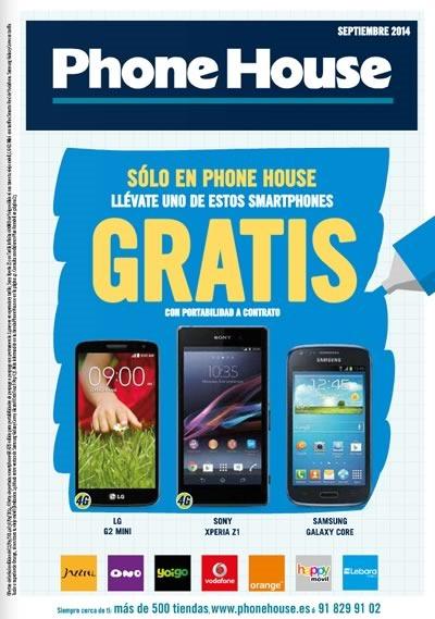 phone house catalogo septiembre 2014