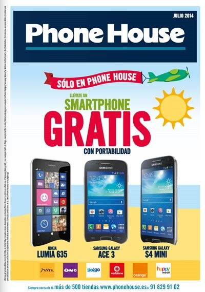 phone house moviles rebajas julio 2014