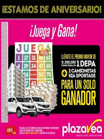 plaza vea catalogo aniversario octubre 2015