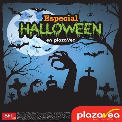plaza vea catalogo especial halloween 2015